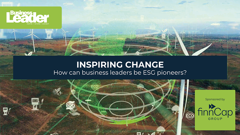 Inspiring change – how can business leaders be ESG pioneers?